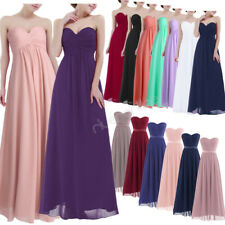 Long Formal Prom Dress Lady Cocktail Party Ball Gown Evening Bridesmaid Dresses