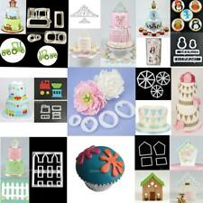 Various Theme Fondant Cake Decorating Plunger Cookie Cutter Paste Mold Tool