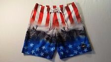 NWT Hollister by Abercrombie Men Swim Shorts Board Trunks Classic Fit - Size 32