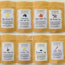 Chai 2 Pack-Australian Loose Leaf Tea-Birthday-Thank You Gift-Eco Packaging