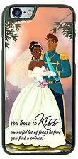 Disney Princess Tiara You have to kiss many frogs Phone Case Cover for iPhone