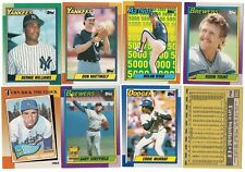 1990 O-Pee-Chee Complete Team Set 6 Available OPC Rookie Card RC Canada Set 90