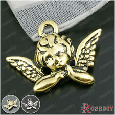 50PCS 20*11MM Alloy Angel Charms Pendants Jewelry Findings Accessories 18943