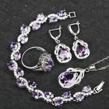 New Stylish Design Bracelets Necklace Earrings Ring Jewelry Sets For Women