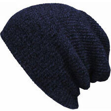 Men Women Unisex Knit Baggy Beanie Winter Ski Slouchy Chic Knitted Cap Skull Hat