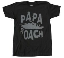 Papa Roach Let 'Em Know Roach Logo Punk Rock Music Band Men's Black T-Shirt