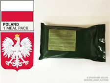 Poland Army Ration Pack S-R. (MRE) meals ready to eat. BB 29-07-2018