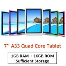 7'' 16G A33  Android Tablet PC Quad Core Dual Camera WiFi HD PC Tablet Bluetooth