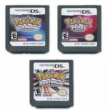 Game Cards for Pokemon Platinum Diamond Pearl For Nintendo 3DS DSI NDSi NDS Lite
