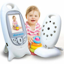 2.4GHz Wireless Video Baby Monitor Audio Security Color LCD 2.0in Camera Alarm