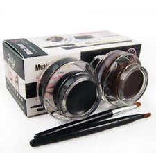Brand Music Flower Eye Liner Brown Black Gel Eyeliner Make Up Waterproof Cosmeti