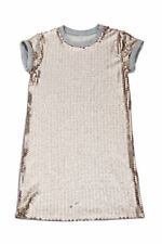 2017 Mia New York Gold Sequined tank Dress Girls Holiday Christmas NWT 7/8 12 14
