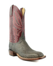 Lucchese HY2503.W8S Archer Mens Anthracite Gry Goat Leather Cowboy Western Boots