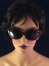 VINTAGE LOOK CATEYE SUNGLASSES TORTOISE SHELL OR RED CAT EYE UV PROTECTION SEXY