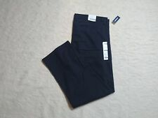 OLD NAVY CLASSIC SLIM KHAKI PANTS MENS SIZE 38X30 CLASSIC NAVY COLOR NEW NWT