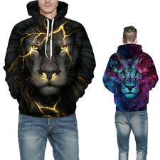 Mens Pullover Hoodie Hooded Stylish Jacket Hooded Activewear Sweater Tops Coats