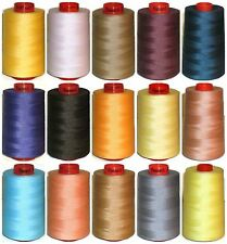 AMANN RASANT 120s SEWING THREAD, POLYESTER/COTTON, 5000 MTRS X 5 CONES