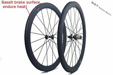 50mm Clincher Carbon Bicycle Wheels 700C 25mm width Carbon Road bike Wheelset