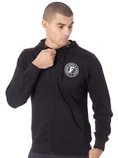 Famous Stars and Straps Black Strike Zip Hoody