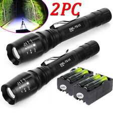 Tactical 20000Lumen 5-Mode XM-L T6 Zoomable 18650 LED Flashlight Torch Light US