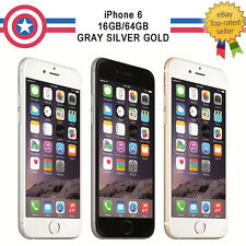 Apple iPhone 6 16GB 64GB Unlocked 4G Smartphone Sim Free GSM/CDMA All Available