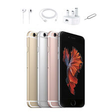 Apple iPhone 6S 16GB 64GB Unlocked Smartphone Sim Free -Rose Gold Silver Grey