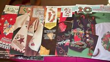 #1 - Vintage Daisy Kingdom No-Sew Fabric Applique Panel's - U-PICK 1