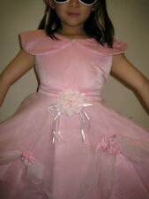 NEW Formal Flower Girl Party Wedding Dress Pink Sizes 3,4,5,6