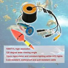 Underwater 1000TVL Fishing Video Camera LED Fish Finder Detector 15m/30m L4L4