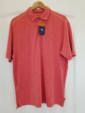Tommy Bahama NWT Paradise Around Spectator Original Fit Polo in Light Red
