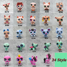 LPS@Littlest Pet Shop Rare Hasbro Big Eyes LPS Figure Cute Animals Toys Gift Toy