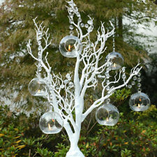 10cm Hanging Orb with Led Tealight or Fire Candle Holders Wedding kits
