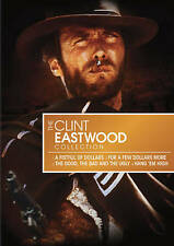 THE CLINT EASTWOOD COLLECTION DVD 2009 4-Disc Set A FISTFUL OF DOLLARS + 3 More!