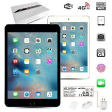 New & Unlocked APPLE iPad Mini 3rd Gen Black White Retina PC Tablet (WiFi+4G)