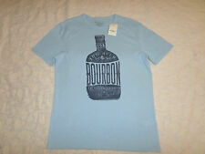 LUCKY BRAND T-SHIRT MEN SIZE M SHORT SLEEVE CREWNECK BLUE COLOR NEW WITH TAGS