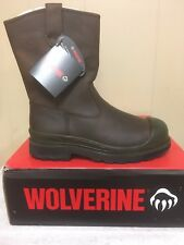 Mens Wolverine steel toe work boots style #4664