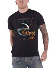 Evanescence T Shirt Synthesis band logo new Official Mens Black