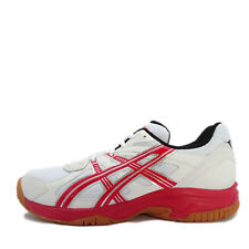 Asics Court Lashing [TOB517-0123] Men Badminton Shoes White/Red