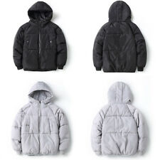 Mens Casual Warm Jacket Hooded Winter Thick Puffer Coat Parka Overcoat Outerwear