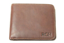 Tony Perotti Italian Leather Classic Slim Bifold Wallet