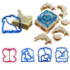 DIY Kids Sandwich Toast Cookies Cake Bread Biscuit Food Cutter Mold Mould O0216
