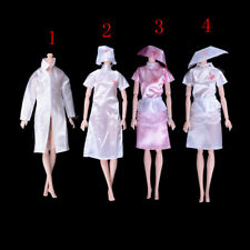 Doctor Clothes Dress Outfit For Barbie Doll Handmade Chirstmas Gift 9F