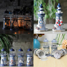 Light House Tea Light Candle Holder Table Lantern Christmas Home Decoration PICK