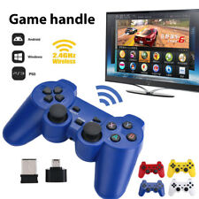 2.4GHz Wireless Dual Joystick Game Controller Gamepad For PS3 PC TV Box