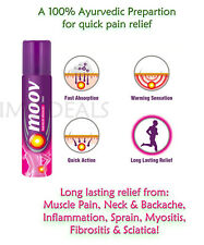 MOOV New Improved Backpain, joint pains, inflammation, sprains, strain, myositis