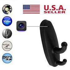 Hidden Spy Camera Clothes Hook DVR Video Nanny Cam Motion Detection US Stock
