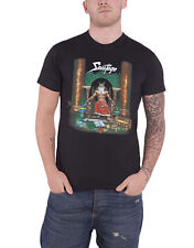 Savatage T Shirt Hall of the Mountain King Band Logo Official Mens New Black