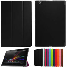 Stand Luxury PU Leather Folio Slim Case Cover For 10.1inch Sony Xperia Z4 Tablet