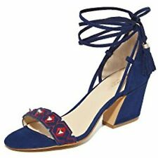 Botkier Women's Penelope City Sandals, Navy/Red Combo, 7.5 B(M) US