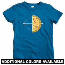 Pizza Arrow Kids T-shirt - Baby Toddler Youth Tee - Gift Bow Food Foodie Slice